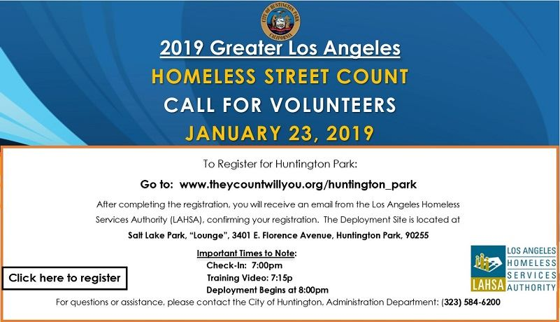 Homeless Count 2018