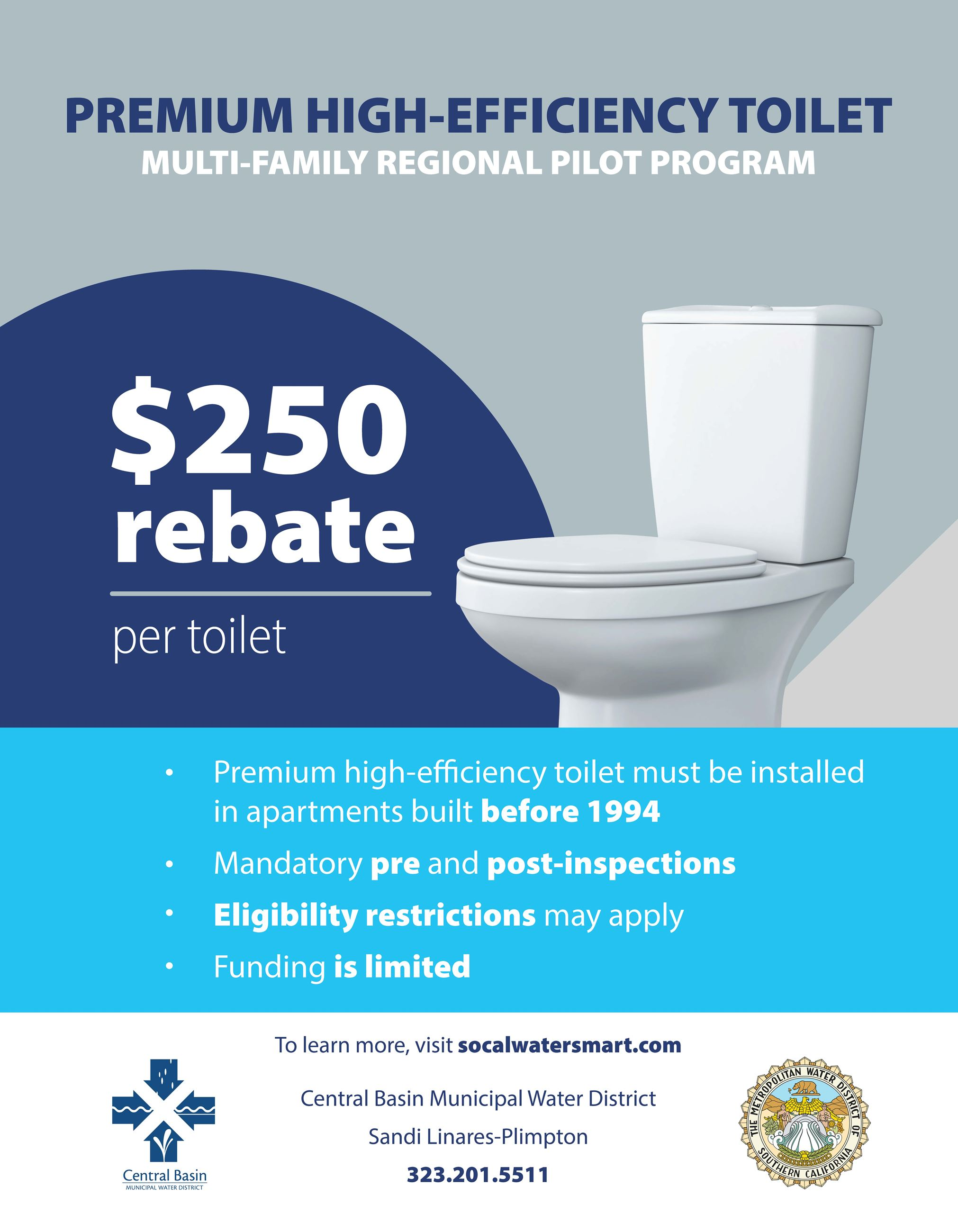 Premium High-Efficiency Toilet Multi-Family Regional Pilot Program
