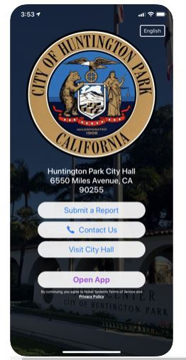 new MyHuntingtonParkApp
