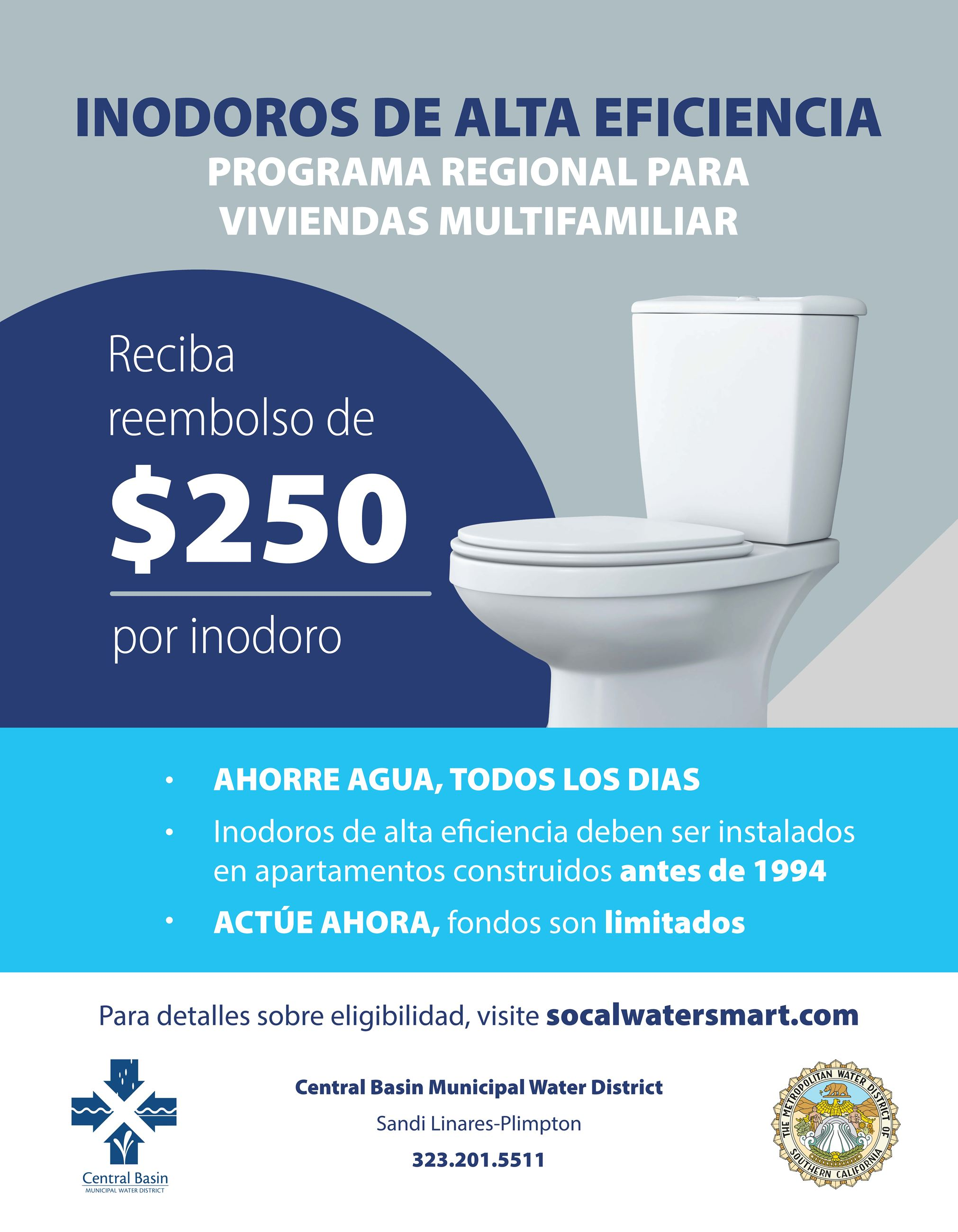 Regional Pilot Program flyer_CBMWD_Spanish
